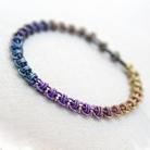 Bransoletki antyalergiczna,biżuteria,kolorowa,chainmaille