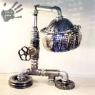 Inne hi-tech,lampa,industrial,niepowtarzana,oryginalna