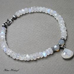 elegancka,delikatna,kamienie - Bransoletki - Biżuteria