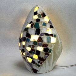 lampa,oświetlenie,lampa stojąca,lampa ceramiczn - Ceramika i szkło - Wyposażenie wnętrz