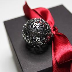 oksydowana kula,wywijasy - Wisiory - Biżuteria