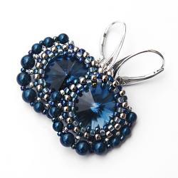 eleganckie,efektowne,wieczorowe - Kolczyki - Biżuteria