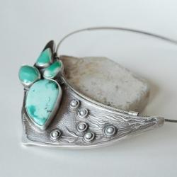 nitza,autorska,orginalna,ręcznie robiona, - Naszyjniki - Biżuteria