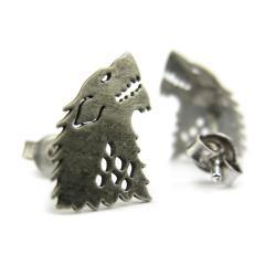 kolczyki herb starków gra o tron - Kolczyki - Biżuteria