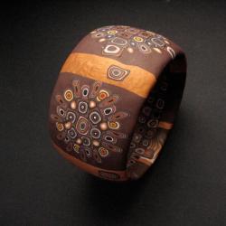 bransoleta,handmade,fiann,biżuteria autroska - Bransoletki - Biżuteria