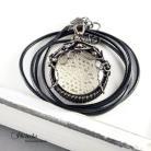Naszyjniki naszyjnik,miedź,koronka,retro,romantyczna