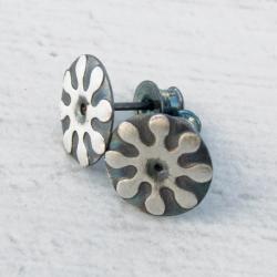 kolczyki,drobne,sztyfty,srebrne,kobiece - Kolczyki - Biżuteria