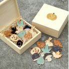 Ceramika i szkło jesienne,liście,dynia,halloween,grzyb