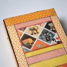Notesy kalendarz książkowy 2015,kot,koty,patchwork