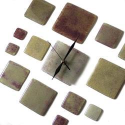 designerski zegar szklany prezent loft parapetowka - Zegary - Wyposażenie wnętrz