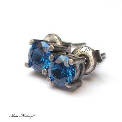 delikatne,sztyfty,drobne - Kolczyki - Biżuteria