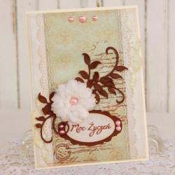kartka,na życzenia,na prezent,imieniny,urodzin - Kartki okolicznościowe - Akcesoria