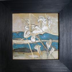 obraz,malarstwo,dekoracja,obraz z kwiatami - Obrazy - Wyposażenie wnętrz