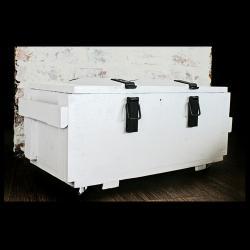 militarna skrzynia,loft,nowoczesne wnętrze - Pudełka - Wyposażenie wnętrz