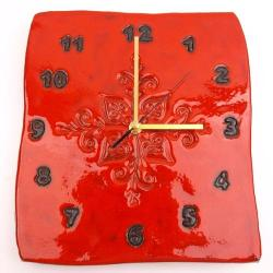 zegar ceramiczny,zegar z ceramiki - Zegary - Wyposażenie wnętrz