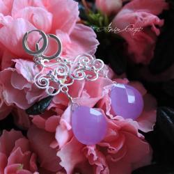 romantyczne,delikatne,kobiece - Kolczyki - Biżuteria