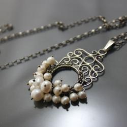 finezyjny naszyjnik, - Naszyjniki - Biżuteria
