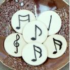 Magnesy na lodówkę nuty,muzyka,magnesy,kuchnia,dekoracja