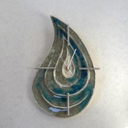 zegar wiszący,zegar - Ceramika i szkło - Wyposażenie wnętrz
