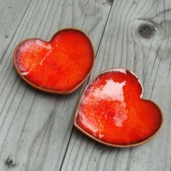 talerzyk,miseczka,romantyczna,fusetki - Ceramika i szkło - Wyposażenie wnętrz