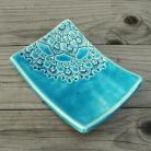 Ceramika i szkło mydelniczka,łazienka,folk,morskie