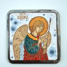 Obrazy ikona,anioł,ceramika,Gabriel