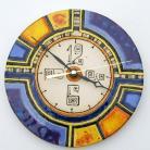 Zegary zegar,ceramika,geometria