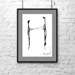 abstrakcja,grafika,rysunek,sztuka,wnętrze - Ilustracje, rysunki, fotografia - Wyposażenie wnętrz