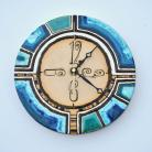 Zegary zegar,ceramika,dekoracja