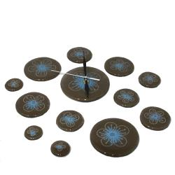 designerski zegar szklany pomysł na prezent loft - Zegary - Wyposażenie wnętrz
