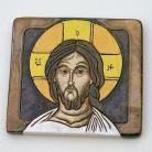 Obrazy Chrystus,ikona,ceramika,obraz