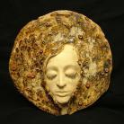 Ceramika i szkło maska,twarz,dekoracja,aranżacja,klimat
