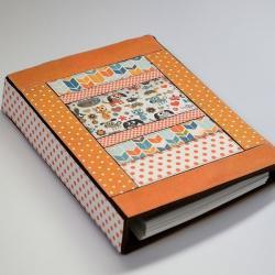 organizer,kalendarz,notes,patchwork,kot,pies - Notesy - Akcesoria