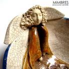Ceramika i szkło crackle,aniołek,miseczka,Łasisz,ceramika