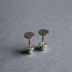 kolczyki srebro sztyfty - Kolczyki - Biżuteria