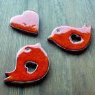 Magnesy na lodówkę romantyczne,zakochani,walentynki,ptaszki,serce