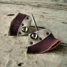 Kolczyki minimalistyczny,nowoczesny,unikatowy