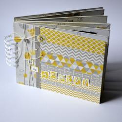 album,nauczyciel,szkoła,patchwork - Albumy - Akcesoria