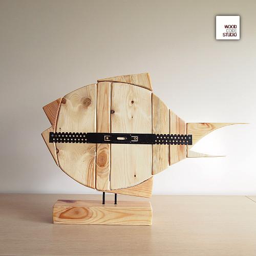 Chłodny dekoracja,ozdoba,wnętrze,dom,oliwa72,drewno, - Inne - Wyposażenie IO89