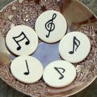 Magnesy na lodówkę nuty,muzyka,magnesy