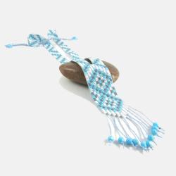 etniczny naszyjnik koralikowy - Naszyjniki - Biżuteria