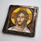 Obrazy ikona,obraz,ceramika,Chrystus