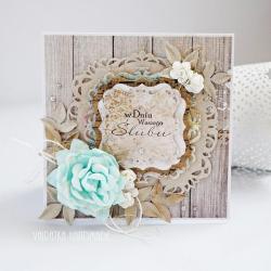 ślub,kartka, - Kartki okolicznościowe - Akcesoria