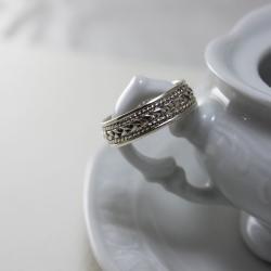 pleciona obrączka - Pierścionki - Biżuteria