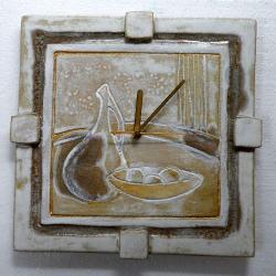 zegar,zegar wiszacy,zegar artystyczny,prezent - Zegary - Wyposażenie wnętrz