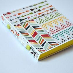 notes,notesik,patchwork, - Notesy - Akcesoria