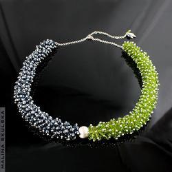 naszyjnik,srebrny,toho,ekskluzywny,bogaty - Naszyjniki - Biżuteria