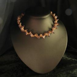 misterny,ażurowy,DNA,elegancki - Naszyjniki - Biżuteria