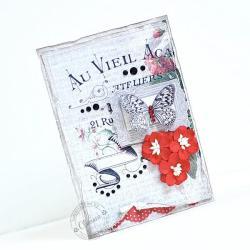 motyle,paryż,na każdą okazję - Kartki okolicznościowe - Akcesoria