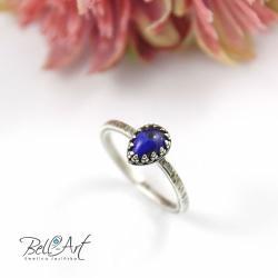 minimalistyczny,delikatny,koronka, - Pierścionki - Biżuteria